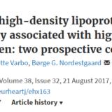 HDLコレステロールは高すぎてもダメですか?
